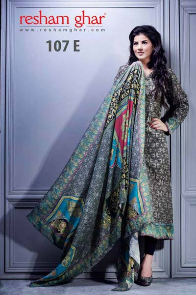 Resham Ghar Latest Fashion for Eid-Ul-Adha Dresses Collection 2013