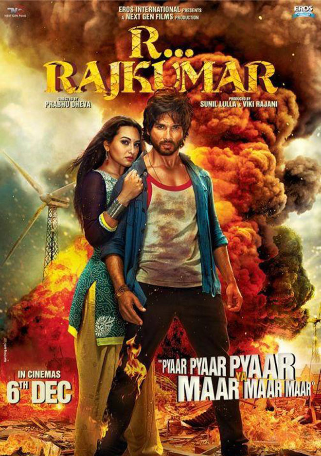 Shahid & Sonakshi Movie Rambo Rajkumar Trailer