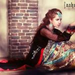 New Zahra Ahmad Semi-formal Wear Dresses 2014-1