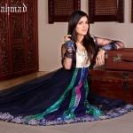 New Zahra Ahmad Semi-formal Wear Dresses 2014-2
