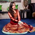New Zahra Ahmad Semi-formal Wear Dresses 2014-3