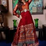 New Zahra Ahmad Semi-formal Wear Dresses 2014-4