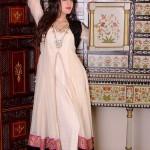 New Zahra Ahmad Semi-formal Wear Dresses 2014-5