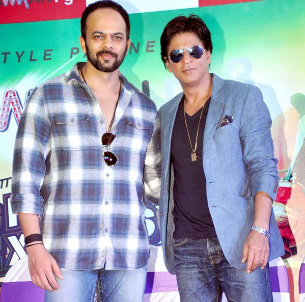 Rohit Shetty made a great friend a family member in ShahRukh Khan e1391634625390 ShahRukh Khan endorses Frooti, Commercial with Kids