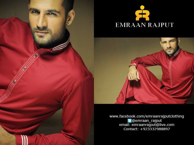 Winter Shalwar Kameez Collection For Men 2013 14 by Emraan Rajput Winter Shalwar Kameez Collection for Men 2014 by Emraan Rajput