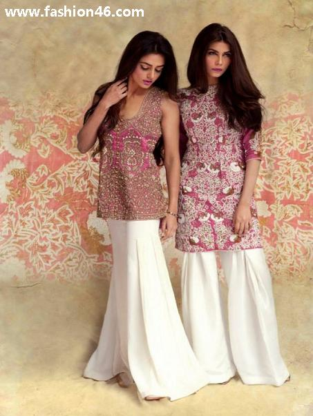 Latest Mahgul Spring Dresses 2014 by Nasreen Shaikh Latest Mahgul Spring Dresses 2014 by Nasreen Shaikh