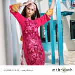 New Mahnoush Lawn Prints Dress 2014 For Summer-3