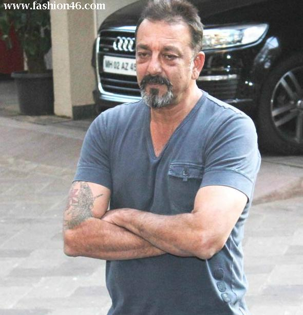 Bollywood Actor Sanjay Dutt celebrated his 55th birthday in Jail