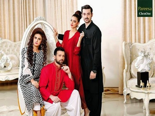 Chen One Formal Men Women Eid Collection 2014 15 Chen One Formal Men/Women Eid Collection 2014 15