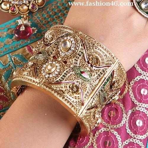 Latest Fashionable Gold Plated Bangles For Girls Latest Fashionable Gold Plated Bangles for Girls