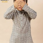 Latest Kids wear Eid Dress Collection 2014 by AlKaram-1