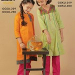 Latest Kids wear Eid Dress Collection 2014 by AlKaram-3
