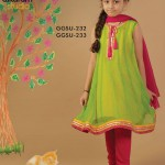 Latest Kids wear Eid Dress Collection 2014 by AlKaram-4