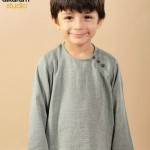 Latest Kids wear Eid Dress Collection 2014 by AlKaram-6