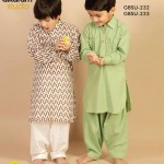 Latest Kids wear Eid Dress Collection 2014 by AlKaram-7