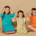 Latest Kids wear Eid Dress Collection 2014 by AlKaram-8