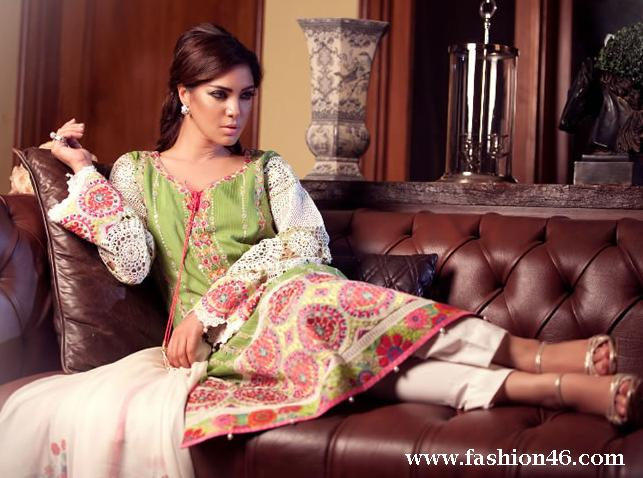 latest fashion trends, latest dresses, latest eid dresses, eid dresses collection 2014, new dresses for girls, latest layla chatoor dresses for eid, eid collection by layla chatoor, dresses with embroidered, women dresses, women outfits, latest collection for women, latest shalwar kameez