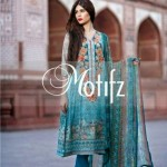 Motifz Eid Embroidered Party Wear Dress Collection 2014 For Girls