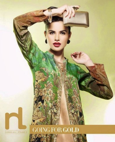 Nishat Linen Eid Ul Fitr Summer Collection 2014 for Women