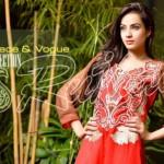 Rujhan Fabrics Raniya Eid Dress for Women 2014 vol 2-2