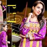 Rujhan Fabrics Raniya Eid Dress for Women 2014 vol 2-4