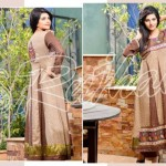 Rujhan Fabrics Raniya Eid Dress for Women 2014 vol 2-5