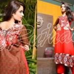 Rujhan Fabrics Raniya Eid Dress for Women 2014 vol 2-6