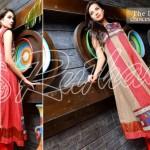 Rujhan Fabrics Raniya Eid Dress for Women 2014 vol 2-7