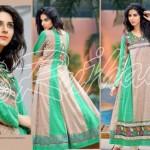 Rujhan Fabrics Raniya Eid Dress for Women 2014 vol 2-9