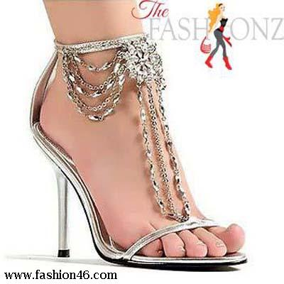 Beautiful Bridal Shoes Collection 2014 High Heels shoes collection 2013 For Girls
