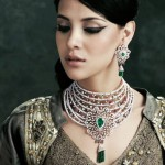Bride Necklaces Jewelry Designs Collection 2014-5