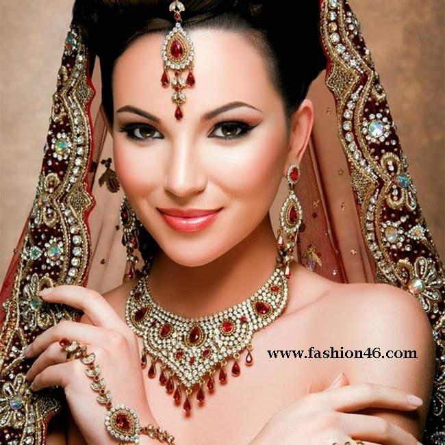 Bride Necklaces Jewelry Designs Collection 2014