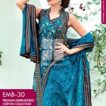 Dress Collection 2014 by Gul Ahmed Digital Printed Lawn-1