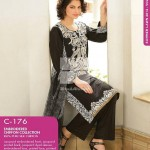 Dress Collection 2014 by Gul Ahmed Digital Printed Lawn