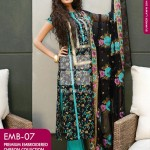 Dress Collection 2014 by Gul Ahmed Digital Printed Lawn-4