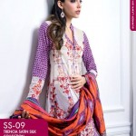 Dress Collection 2014 by Gul Ahmed Digital Printed Lawn-6