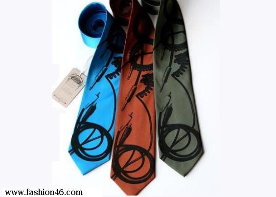 latest fashion trends, latest fashion news, latest stylish ties, latest unusual nectie, unusual nectie dresses collection, men's fashion, latest fashion for men, latest dresses, latest fashionable ties collection, latest tie collection, Ice Cream Shaped Funny Tie, power On Button Tie, periodic Table Tie, pencil Shaped Tie, geometry Tie