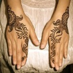Latest Mehndi Designs Collection 2014 for Girls-1