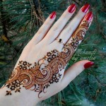 Latest Mehndi Designs Collection 2014 for Girls-6