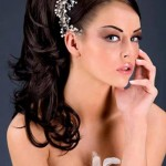 Most Modern Top 10 Bridal Hairstyle 2014-2
