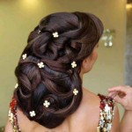 Most Modern Top 10 Bridal Hairstyle 2014-7