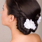 Most Modern Top 10 Bridal Hairstyle 2014-9