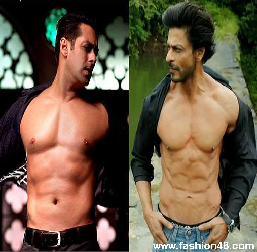 Is Shah Rukh Khan Copying Salman Khan by Going Shirtless 1 Is Shah Rukh Khan Copying Salman Khan by Going Shirtless?