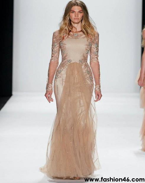 Latest Badgley Mischka Runway Show Spring Collection 2014 Latest Badgley Mischka Runway Show Spring Collection 2014