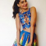 Latest Best Hairstyles of Sonam Kapoor at Khoobsurat Promotions-2