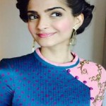 Latest Best Hairstyles of Sonam Kapoor at Khoobsurat Promotions-8