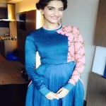 Latest Best Hairstyles of Sonam Kapoor at Khoobsurat Promotions-9