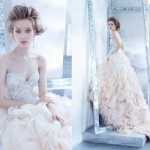 Latest Lazaro Bridal Gown Fall 2014 Collection-8