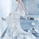 Latest Lazaro Bridal Gown Fall 2014 Collection-9