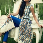 Latest Luxury Pret Dresses for Women 2014 By Sana Salman-2